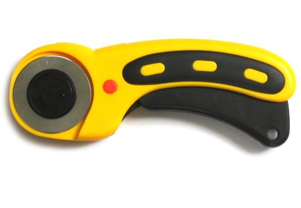 Rollenschneider gelb